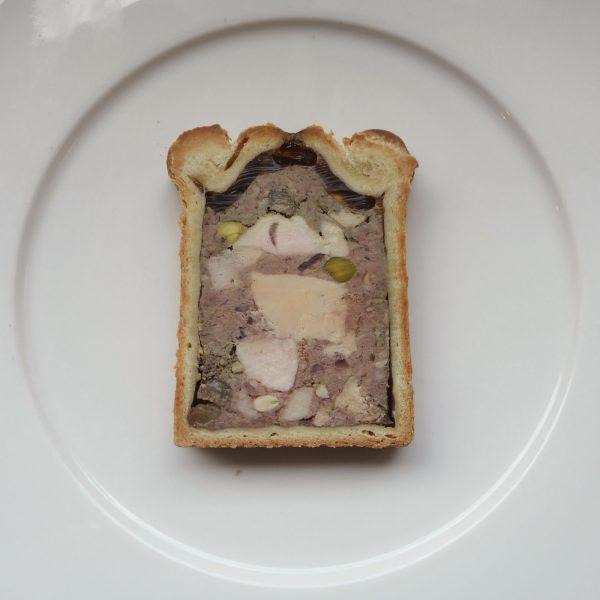 Tranche de pâté croûte Brazier