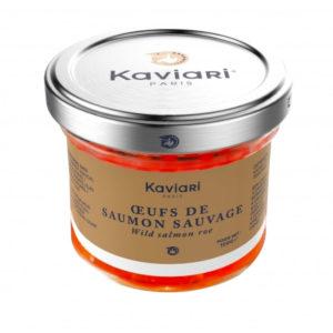 Œufs de saumon sauvage Kaviari