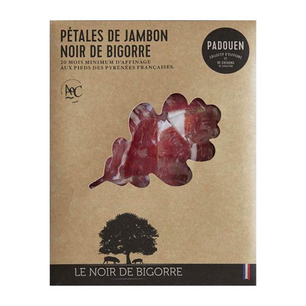 Pétales de jambon noir de Bigorre