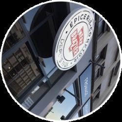 Lyon City Crunch a testé l'épicerie comptoir